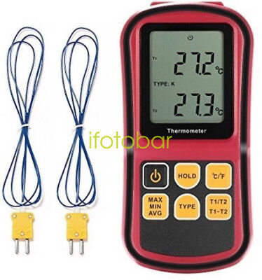 GM1312 Thermocouple Thermometer Measure the thermocouple of J,K,T,E,N and R type