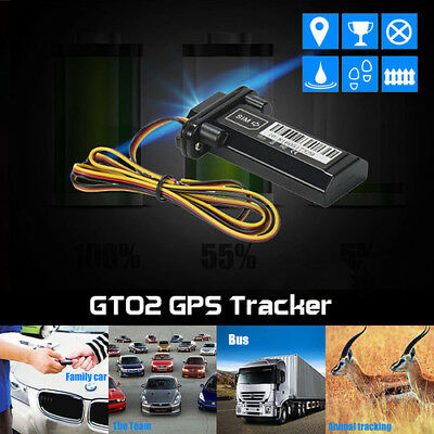 Waterproof GSM GPS GPRS Tracker Car Locator Vehicle Real Time Tracking Device