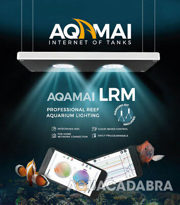 Aqamai LED Light Unit Professional WiFi Reef Aquarium Cloud Control / Bracket
