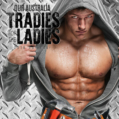 Our Australia Tradies for the Ladies 2018 Wall Calendar by Paper Pocket