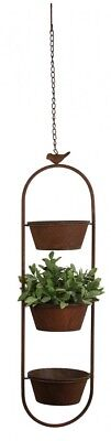 Hanging Pot Stand - Rustic Triple