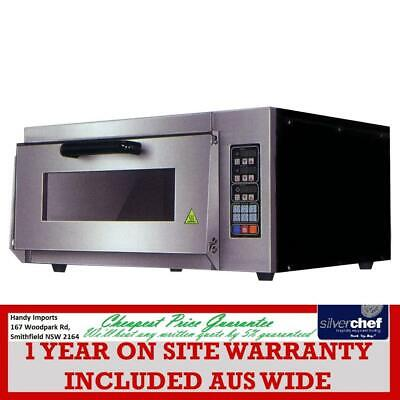 Electric Pizza Oven Single Layer Deck Computer Version - TEP-1AKW VALUE