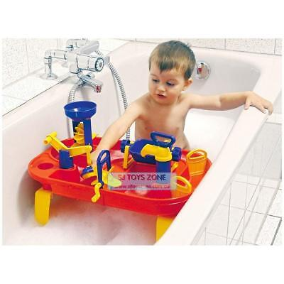 2 In 1 Baby Bath World Tub & Outdoor Water Play Fun Table Quality Toddler Toy