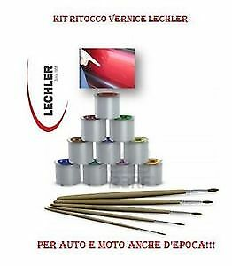 Kit Ritocco Vernice 50 Gr Lechler Ford Aa9E Black Gold
