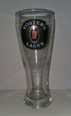 Collectable Fosters Lager 285ml Beer Glass In Excellent Condition