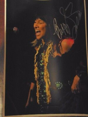 Buffy St Marie Autographed Photo