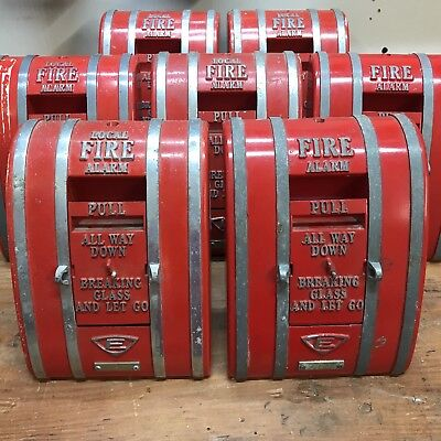 Edwards 1251-OSA Coded Fire Alarm Pull Station *VINTAGE & RARE* (Lot of 1)