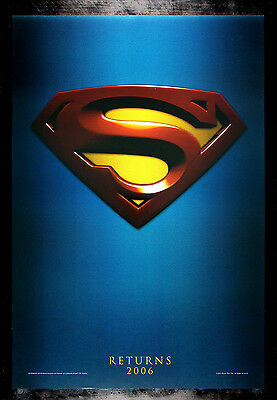SUPERMAN RETURNS * CineMasterpieces DS 1SH NM-M ORIGINAL MOVIE POSTER 2006