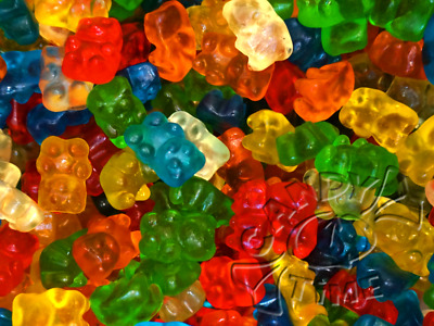 Trolli Gummi Bears 1Kg Bag Lollies