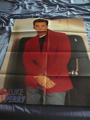 LUKE PERRY 90210 OZ RIVERDALE PIN UP POSTER PHOTO AFFICHE 21 x 26 CLIPPING