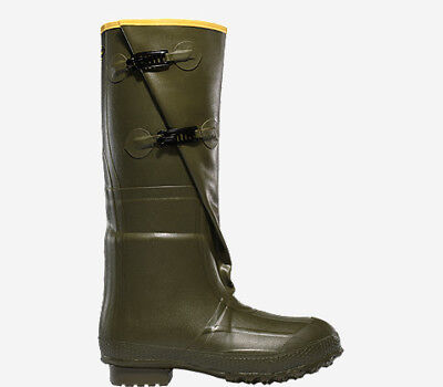 """Lacrosse Insulated 2-Buckle 18"""" Men's Boots OD Green Sz 9 267040"""