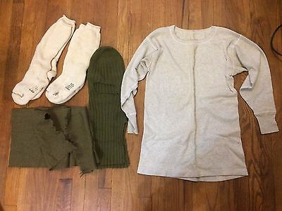 f56266b0be0 WWII ORIGINAL COLD Weather Gear Grouping