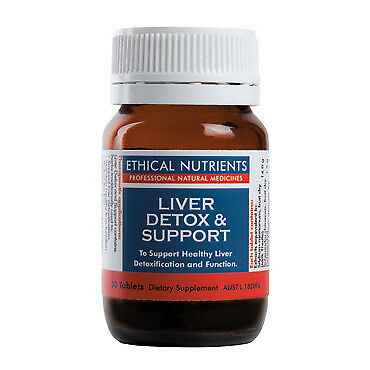 Ethical Nutrients Liver Detox Support Tablets 30 NEW