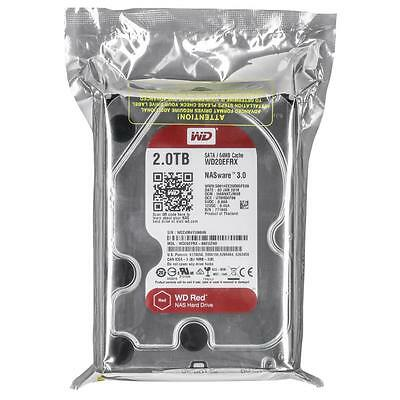 Western Digital WD Red2TB WD20EFRX SATA 64MB Cache