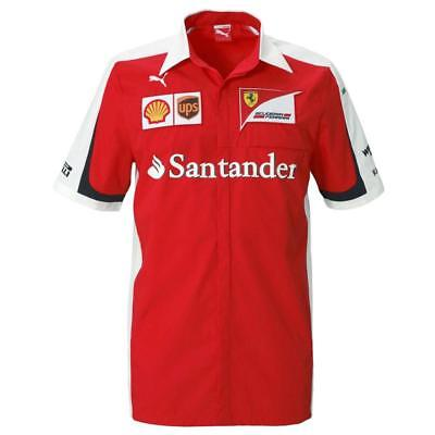 Puma SF Team Shirt Scuderia Ferrari Official Formel 1 Hemd 761670