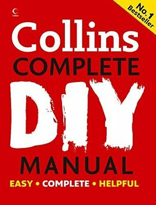 Collins Complete DIY Manual by Albert Jackson New Hardcover Book