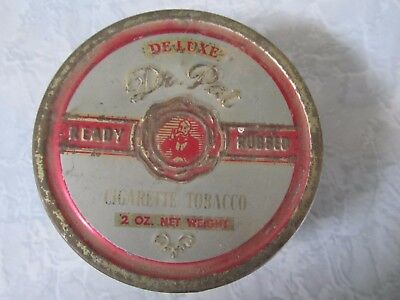 Vintage Deluxe Dr. Pat, Ready Rubbed Cigarette Tobacco TIN