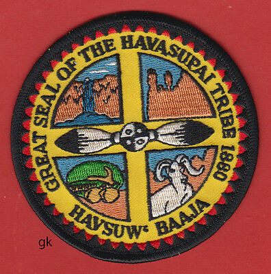 Great Seal Of The Havasupai Tribe Indian  Tribal Shoulder Patch