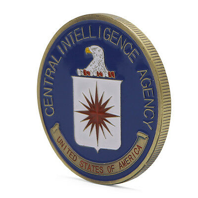 Saint Michael US Central Intelligence Agency Commemorative Coins Challenge Gift