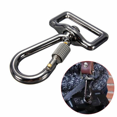 Quick Release Trigger Snap Hook Ring Carabiner Screw Lock for Camera Strap