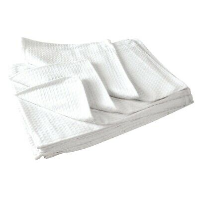 Vogue Cloths White Honeycomb Weave (Pack of 10) BARGAIN