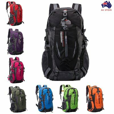 40L Waterproof Outdoor Backpack Sport Hiking Camping Luggage Travel Rucksack Bag