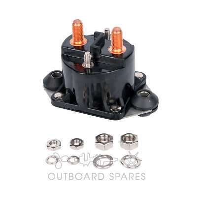 A New Mercury Mariner Starter Solenoid for 75hp to 250hp Outboard (# 817109A2)