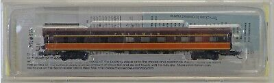 Micro Trains Line Z Scale 85' Pullman Standard 6-6-4 Sleeper - Illinois Central