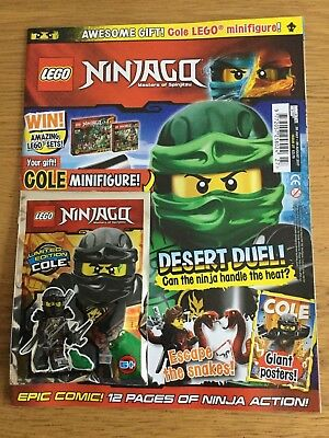 LEGO Ninjago Magazine issue  27   With free  limited edition Cole
