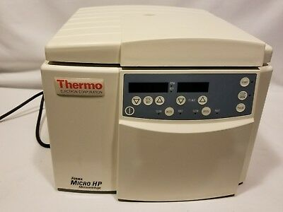 Thermo IEC 5590 Microcentrifuge HP WORKS GREAT - 30 day Warranty! 2005 edition