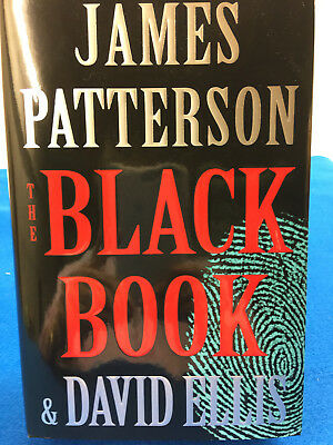 The Black Book by James Patterson 2017 1st Print HC