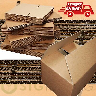 "DOUBLE WALL Cardboard House Moving Boxes - Removal Packing box - 24"" x 18"" x 18"""
