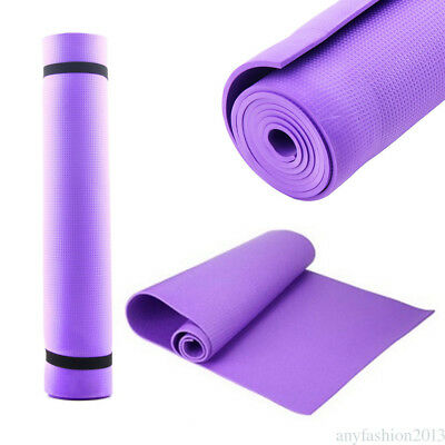 Estera de yoga No Slip Ejercicio Friendly Fitness Soft Mat
