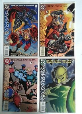 DC Showcase '96 #1-12 - Guy Gardner, Black Canary, Green Arrow, Many More