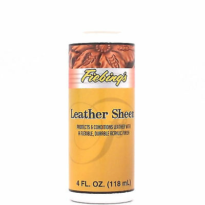Leather Sheen 4 oz New Arcylic Finish 2205-01 by Fiebing's LEAT00P004Z