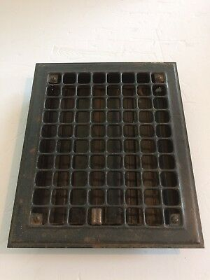 Vintage Metal Heater Register Vent