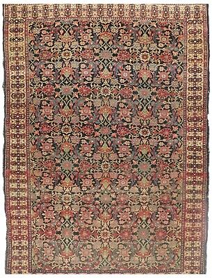 "Antique Agra rug. 3'10""x 5'5"""