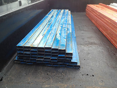 5 Used Box Section  30/50/3Mm  2M30Cm Long