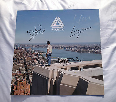 Bastille Lyrics Book Signed in Person Autograph by All Four !