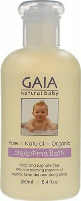 GAIA NATURAL BABY Baby Sleeptime Bath Wash 250ml