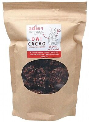 2DIE4 LIVE FOODS Ow Cacao - 200g