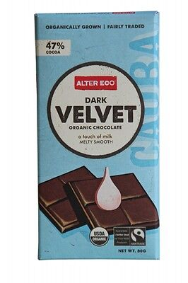 ALTER ECO Dark Velvet 80g - Organic Chocolate