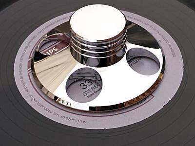 LP Vinyl Turntables Metal Disc Stabilizer Record Weight / Clamp Silver / Gold