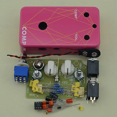 Make your DIY Compressor Effects Pedal WITH Hammond 1590B Size Effect pedal box