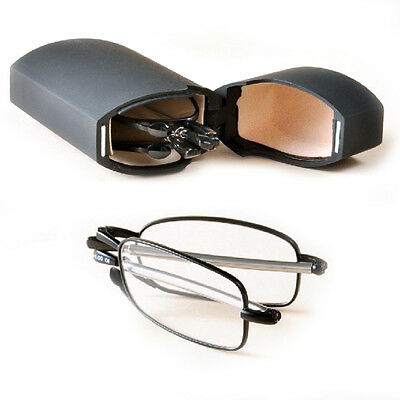 New Folding Reading Glasses Rotation Eyeglass +1.5 +2.0 +2.5 +3.0 UK