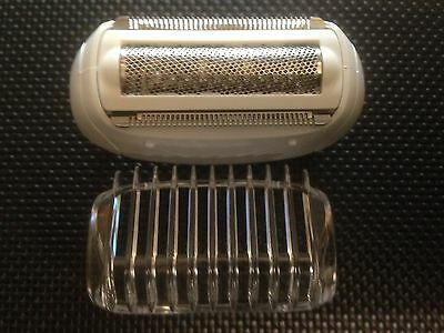 Philips Shaving Head And Comb Attachment Fits Model Hp6522 Hp6527 Satinsoft New