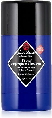 Pit Boss Antiperspirant & Deodorant, Jack Black, 2.75 oz