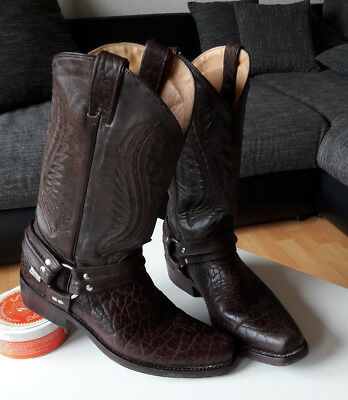Westernboots mit Stiefelband, WB-17, Stars & Stripes