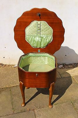 Vintage Wooden Sewing Table 1930s - 40's?