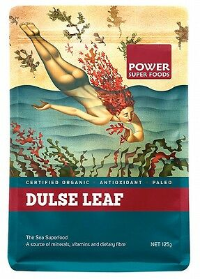 3 X POWER SUPER FOODS Sea Power Red Dulse Leaf 125g
